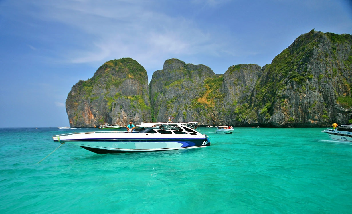 Full Day Tour by Speedboat