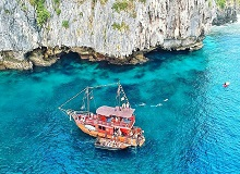 Our beautiful double deck boat Phi Phi Pirate Cruise